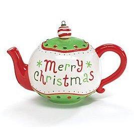 Merry Christmas Teapot