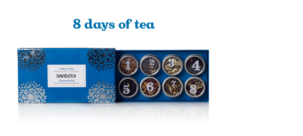 8 Days of Tea - David's Tea