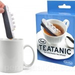 A tea infuser in the shape of the Titanic. Tasteful or tasteless?